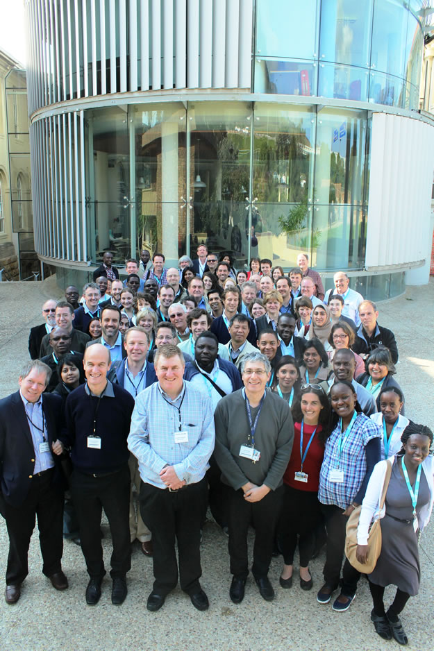 Embo Workshop 2013 delegates