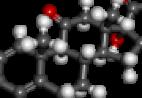 Prednisone molecular structure